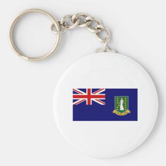 British Virgin Islands FLAG International Keychain