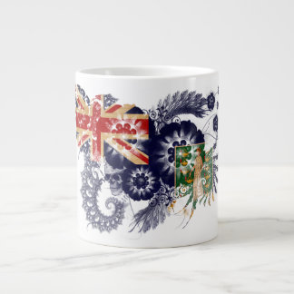 British Virgin Islands Flag Jumbo Mug