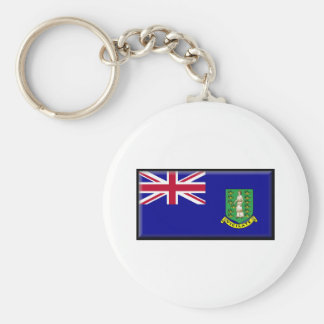 British Virgin Islands Flag Keychain
