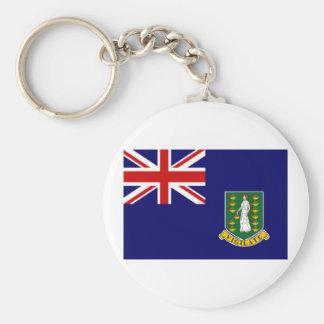 British Virgin Islands Flag Key Chains