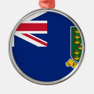British Virgin Islands Flag Metal Ornament