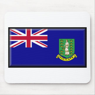 British Virgin Islands Flag Mouse Pad