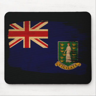 British Virgin Islands Flag Mouse Pad