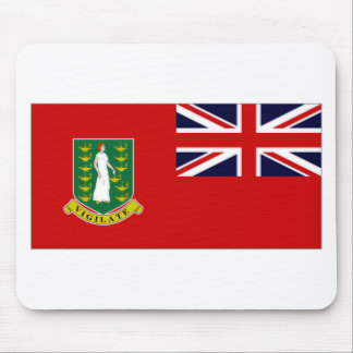 British Virgin Islands Flag Mousepad