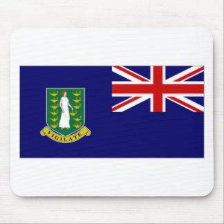 British Virgin Islands Flag Mousepads