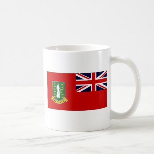 British Virgin Islands Flag Coffee Mugs