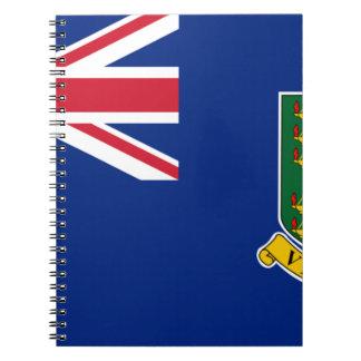 British Virgin Islands Flag Notebooks
