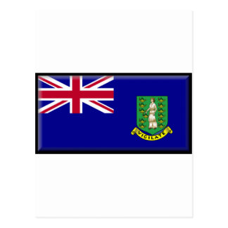 British Virgin Islands Flag Postcard