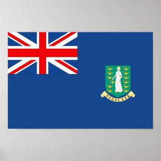 British Virgin Islands Flag Poster