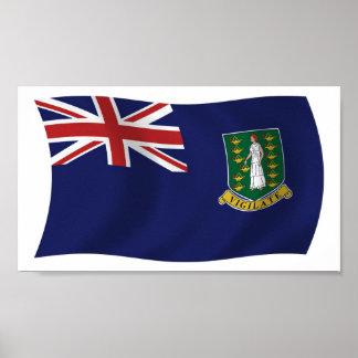 British Virgin Islands Flag Poster Print