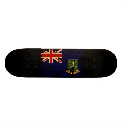 British Virgin Islands Flag Skate Deck