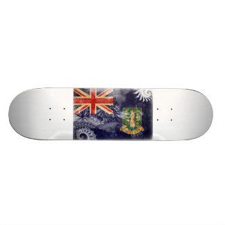 British Virgin Islands Flag Skateboard