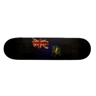 British Virgin Islands Flag Skateboard Decks