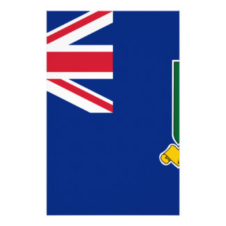 British Virgin Islands Flag Stationery