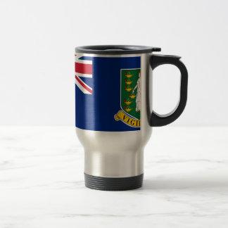 British Virgin Islands Flag Travel Mug