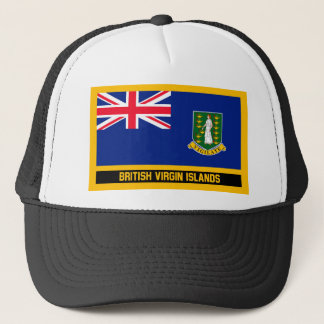British Virgin Islands Flag Trucker Hat