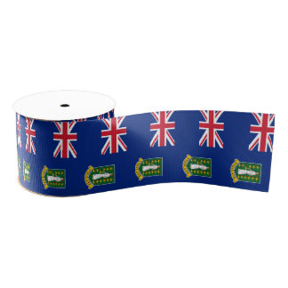 British Virgin Islands Grosgrain Ribbon