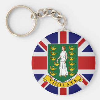 British Virgin Islands High quality Flag Keychains
