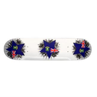British Virgin Islands Star Skate Board Decks