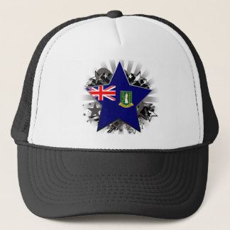 British Virgin Islands Star Trucker Hat