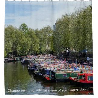 British Waterways - Braunston Canal Festival Shower Curtain