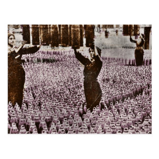 British Women WWI Bomb Factory Postcard