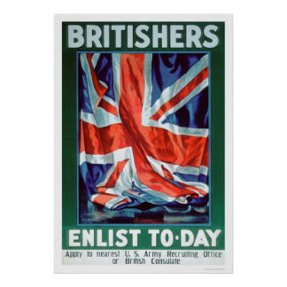 Britishers Enlist Today (US02116) Poster