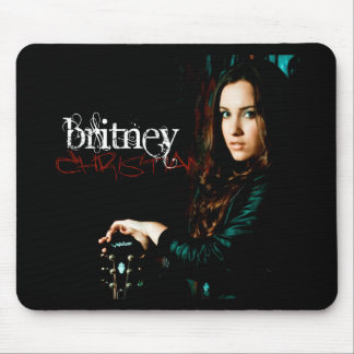 Britney Christian CD Cover Mouse Pad