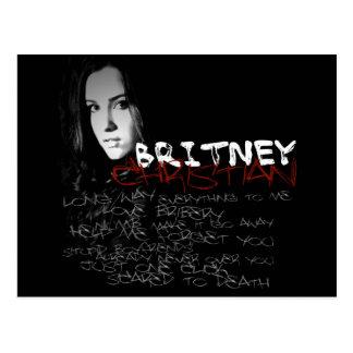 Britney Christian Lyrics Postcard