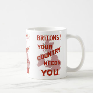 Britons! Your Country Needs YOU Basic White Mug