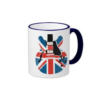 Britpop Guitar Mug