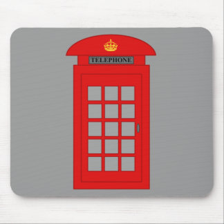 Britsh Telephone Box Mouse Pad