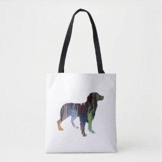 Brittany Dog Art Tote Bag