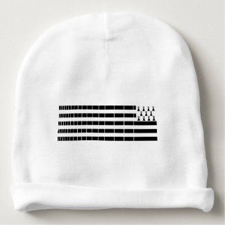 Brittany flag baby beanie