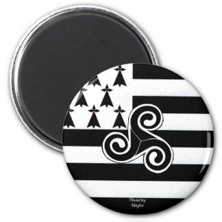 Brittany Flag (Breton) Magnet