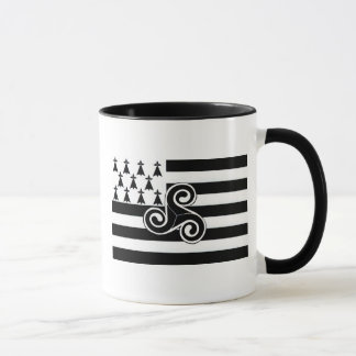 Brittany Flag (Breton) Mug
