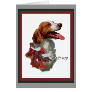 Brittany Spaniel Christmas Cards