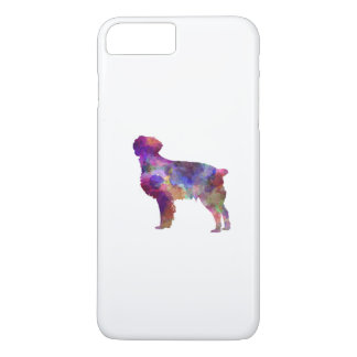 Brittany Spaniel in watercolor iPhone 8 Plus/7 Plus Case