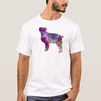 Brittany Spaniel in watercolor T-Shirt