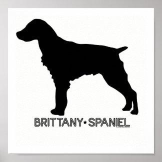 Brittany Spaniel Print