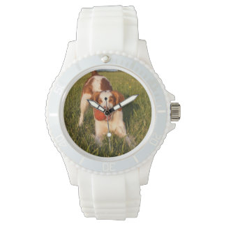 Brittany Sporty White Silicon Watch
