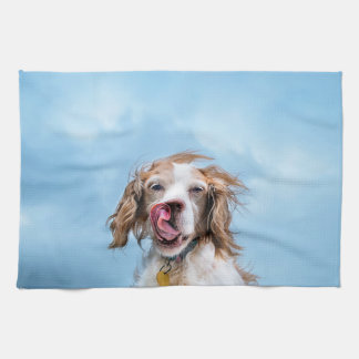 Brittany With Attitude Tea Towel