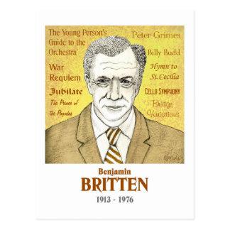 Britten Postcard