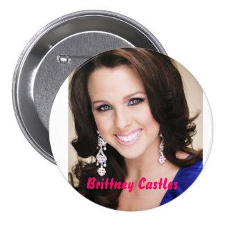 Brittney Castles Pinback Buttons
