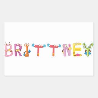 Brittney Sticker
