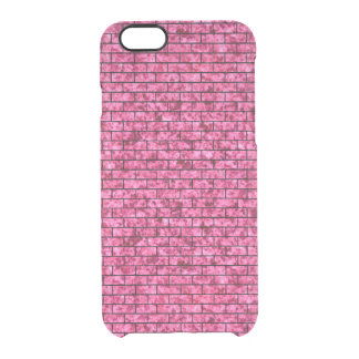 BRK1 BK-PK MARBLE (R) CLEAR iPhone 6/6S CASE