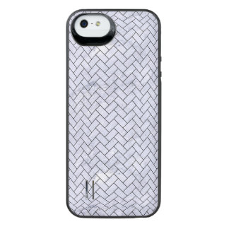 BRK2 BK-WH MARBLE (R) iPhone SE/5/5s BATTERY CASE