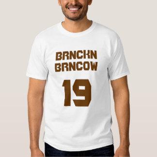 BRNCKN BRNCOW TEE SHIRTS