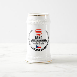 Brno Beer Stein