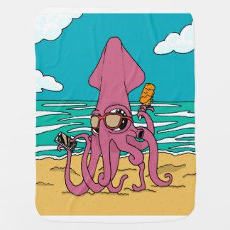 Bro Squid Baby Blanket